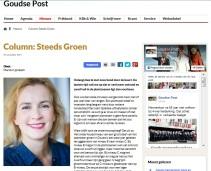 2e column Steeds Groen